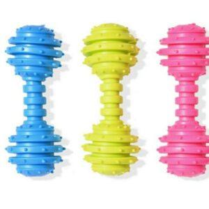 """צעצוע נשכן משקולת גומי 12.5 ס""""מ"""