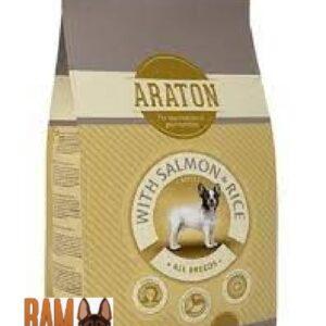 """אראטון כלב בוגר בטעם סלמון ואורז 15 ק""""ג"""