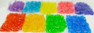 חצץ פלסטיק נגאצים בשקית