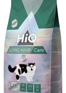 "HIQ מזון לחתולים בוגרים ארוכי שיער 1.8 ק""ג"