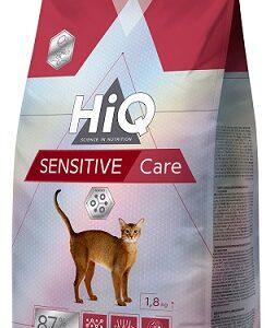"HIQ מזון סנסטיב לחתולים רגישים 1.8 ק""ג"