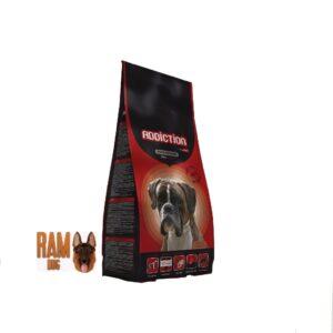 """אדיקשן, מזון סופר פרמיום לכלבים בוגרים עם פעילות ממוצעת, בשר עוף, 15 או 3 ק""""ג"""